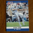 Rohn Stark Baltimore Colts P Card No. 135 - 1990 NFL Pro Set Football Card