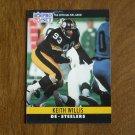 Keith Willis Pittsburgh Steelers DE Card No. 273 (FB273) 1990 NFL Pro Set Football Card