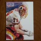 Jim Lachey Washington Redskins T All NFC Team Card No. 381 (FB381) 1991 NFL Pro Set Football Card