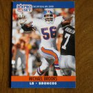 Michael Brooks Denver Broncos LB Card No. 485 - 1990 NFL Pro Set Football Card