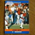 Dennis Smith Denver Broncos S Card No. 491 - 1990 NFL Pro Set Football Card