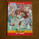 Albert Lewis Kansas City Chiefs CB Card No. 529 - 1990 NFL Pro Set Football Card