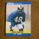 Bobby Humphrey Los Angeles Raiders CB Card No. 551 (FB551) 1990 NFL Pro Set Football Card