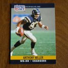 Anthony Miller San Diego Chargers WR - KR Card No. 630 (FB630) 1990 NFL Pro Set Football Card