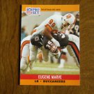 Eugene Marve Tampa Bay Buccaneers LB Card No. 656 (FB656) 1990 NFL Pro Set Football Card