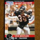 Steve Broussard Atlanta Falcons RB Card No. 688 (FB688) 1990 NFL Pro Set Football Card