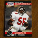 Darion Conner Atlanta Falcons LB Card No. 696 (FB696) 1990 NFL Pro Set Football Card