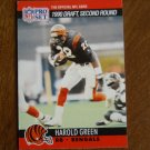 Harold Green Cincinnati Bengals RB Card No. 707 (FB707) 1990 NFL Pro Set Football Card