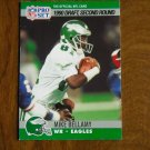 Mike Bellamy Philadelphia Eagles WR Card No. 719 (FB719) 1990 NFL Pro Set Football Card