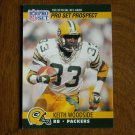Keith Woodside Green Bay Packers RB Card No. 734 (FB734) 1990 NFL Pro Set Football Card