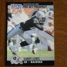 Garry Lewis Los Angeles Raiders CB Card No. 752 - 1990 NFL Pro Set Football Card