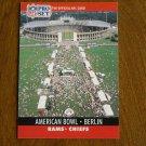 American Bowl Berlin Rams vs. Chiefs Card No. 782 - 1990 NFL Pro Set Football Card