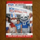 NFL's Overseas Appeal Shop open in Tokyo Newsreel No. 789 - 1990 NFL Pro Set Football Card