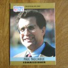 Paul Tagliabue NFL Commissioner Card No. 2 - 1990 NFL Pro Set Football Card