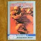Super Bowl V Orange Bowl Miami Colts vs. Cowboys Card No. 5 - 1990 NFL Pro Set Football Card