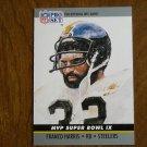 Franco Harris Pittsburgh Steelers RB Card No. 9 (FB9) 1990 NFL Pro Set Football Card