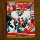 Andre Ware Houston Oilers QB Card No. 19 - 1990 NFL Pro Set Football Card