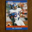 Ricky Nattiel Denver Broncos WR Card No. 93 - 1990 NFL Pro Set Football Card
