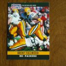 Brent Fullwood Green Bay Packers RB Card No. 107 - 1990 NFL Pro Set Football Card
