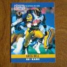 Greg Bell Los Angeles Rams RB Card No. 163 - 1990 NFL Pro Set Football Card