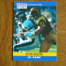 Kevin Greene Los Angeles Rams LB Card No. 167 - 1990 NFL Pro Set Football Card