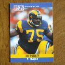 Irv Pankey Los Angeles Rams T Card No. 172 - 1990 NFL Pro Set Football Card