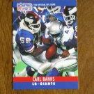 Carl Banks New York Giants LB 223 Card No. 223 - 1990 NFL Pro Set Football Card
