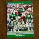Mike Quick Philadelphia Eagles WR Card No. 249 - 1990 NFL Pro Set Football Card
