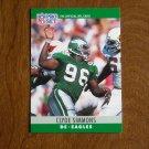 Clyde Simmons Philadelphia Eagles DE Card No. 250 - 1990 NFL Pro Set Football Card