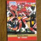 Roger Craig San Francisco 49ers RB Card No. 287 - 1990 NFL Pro Set Football Card