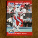 Kevin Ross Kansas City Chiefs CB Card No. 369 - 1990 NFL Pro Set Football Card