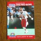 Webster Slaughter Cleveland Browns WR Card No. 370 - 1990 NFL Pro Set Football Card