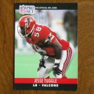 Jessie Tuggle Atlanta Falcons LB Card No. 432 - 1990 NFL Pro Set Football Card