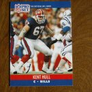 Kent Hull Buffalo Bills C Card No. 438 - 1990 NFL Pro Set Football Card
