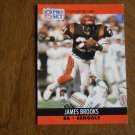 James Brooks Cincinnati Bengals RB Card No. 461 - 1990 NFL Pro Set Football Card