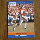 Michael Young Denver Broncos WR Card No. 493 - 1990 NFL Pro Set Football Card