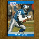 Mel Gray Detroit Lions KR WR Card No. 497 - 1990 NFL Pro Set Football Card