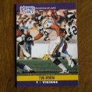 Tim Irwin Minnesota Vikings T Card No. 569 - 1990 NFL Pro Set Football Card