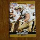Jim Dombrowski New Orleans Saints T Card No. 587 - 1990 NFL Pro Set Football Card