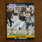 Leslie O'Neal San Diego Chargers LB Card No. 632 (FB632) 1990 NFL Pro Set Football Card