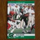 Rob Moore New York Jets WR Card No. 694 (FB694) 1990 NFL Pro Set Football Card