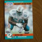 Keith Sims Miami Dolphins G Card No. 708 (FB708) 1990 NFL Pro Set Football Card