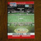 American Bowl Tokyo Broncos vs. Seahawks Card No. 783 - 1990 NFL Pro Set Football Card
