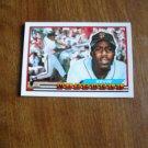 Kevin Mitchell San Francisco Giants 3B - OF Card No. 129 - 1989 Topps Baseball Card