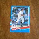 Craig Grebeck Chicago White Sox Infield Card No. 378 - Donruss '91 Baseball Card