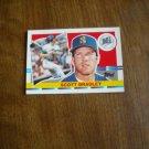 Scott Bradley Seattle Mariners C - DH Card No. 181 - 1990 Topps Baseball Card