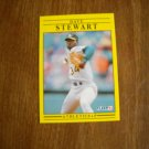 Dave Stewart Oakland A's Athletics P Card No. 25 - Fleer '91 Baseball Card