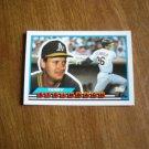 Terry Steinbach Oakland A's Athletics Catcher Card No. 80 - 1989 Topps Baseball Card