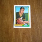 Mike Moore Oakland A's Athletics Pitcher Card No. 359 - 1992 Topps Baseball Card
