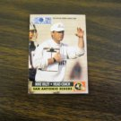 Mike Riley San Antonio Riders Head Coach WLAF Card No. 30 - 1991 World League Football Card